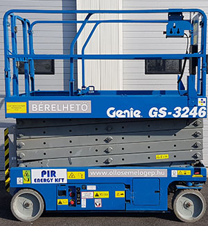 Több darabunk is van a GENIE GS 3246-ból, mert annyira kelendő
